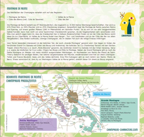 Montagne-de-Reims-Regionskarte