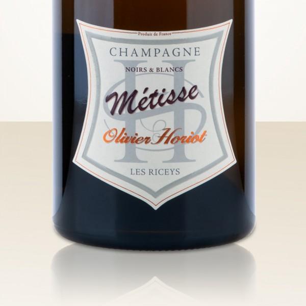 "Olivier Horiot Cuvée ""Métisse"" Noirs & Blancs L15 Extra Brut"