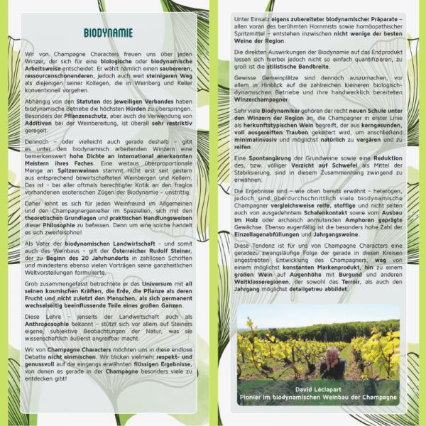 Information Card Biodynamics