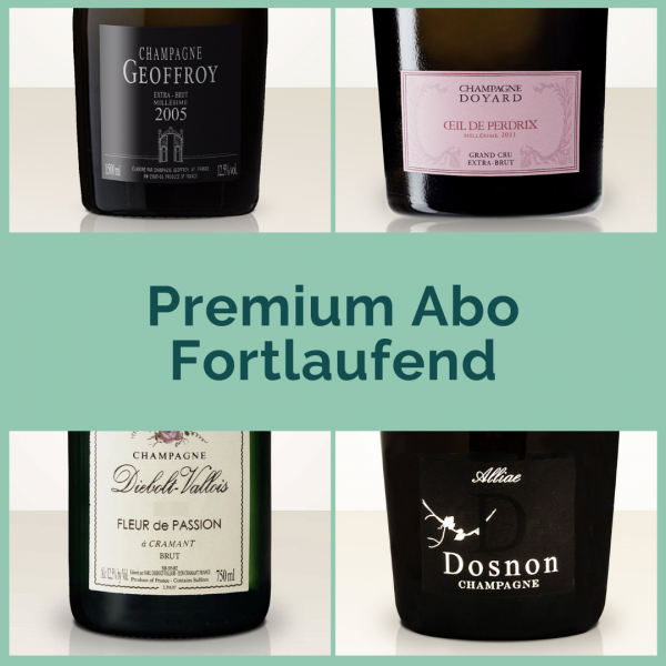 Premium Champagne Subscription - Ongoing - 2 bottles per shipment