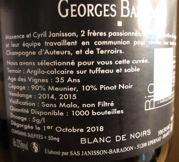 "Janisson-Baradon ""Georges Baradon"" Brut Bio"