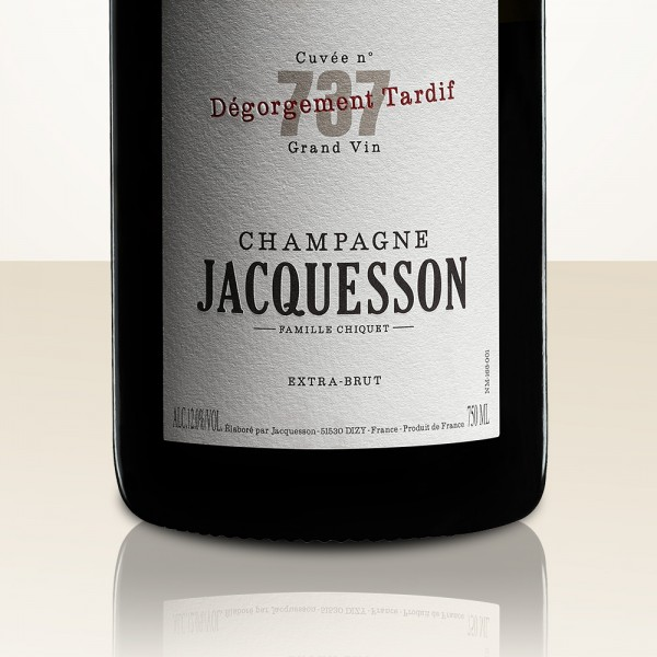 Jacquesson Brut 738 Dégorgement Tardif