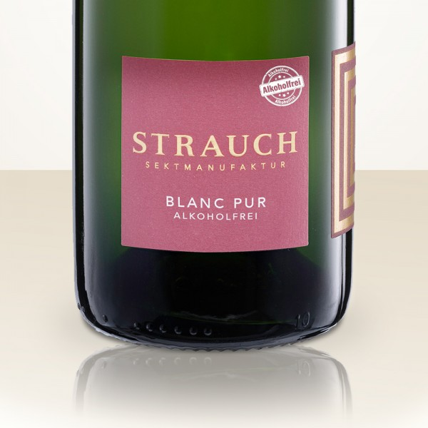 Strauch Blanc Pur BIO without alcohol