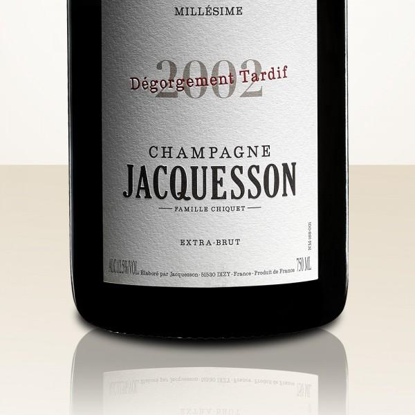 Jacquesson Millésime 2002 Dégorgement Tardif