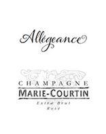 Marie Courtin Allégeance Rosé de Macéracion 2013