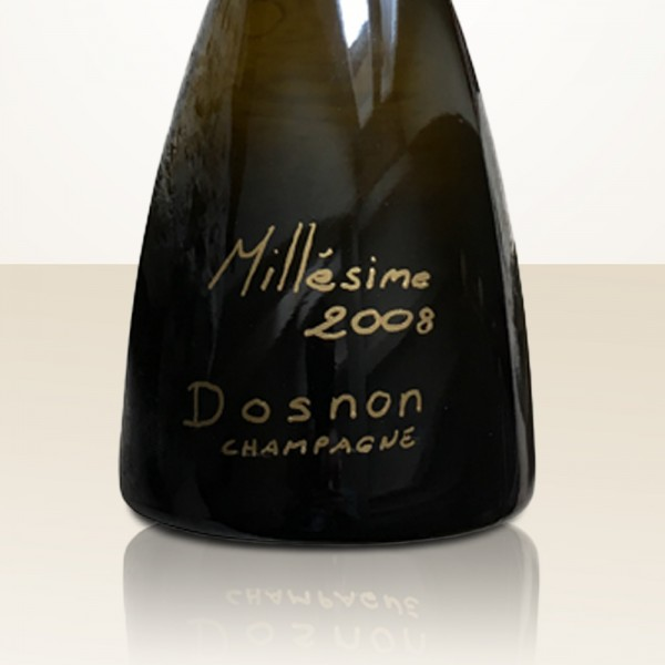 Dosnon Millésime 2008 Pinot Noir in wooden box