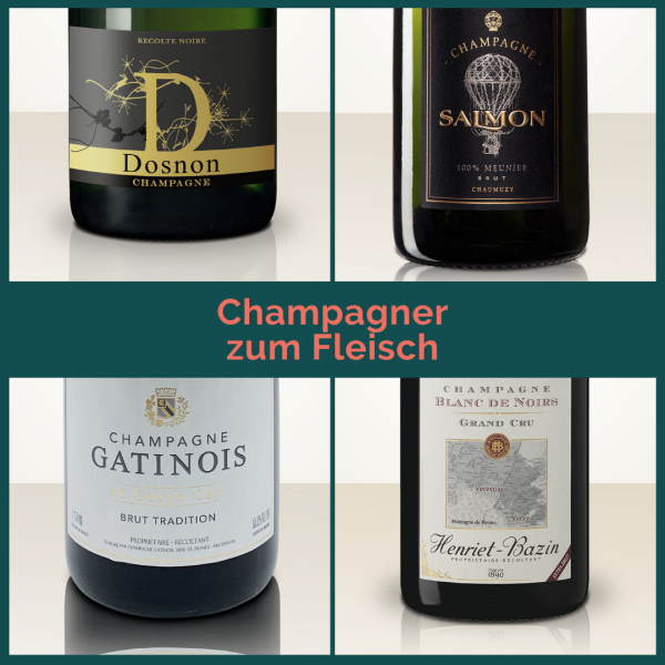 "Taster Pack ""Champagne and Beef"" - 3 bottles"