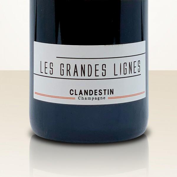 "Clandestin ""Les Grandes Lignes"" Brut Nature"