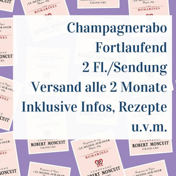 Champagne Subscription - Ongoing - 2 bottles per shipment