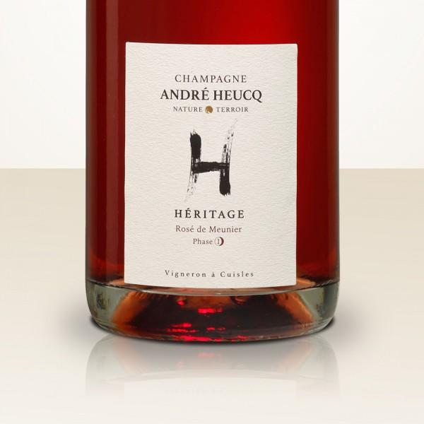 André Heucq HERITAGE Rosé de Meunier Phase 1