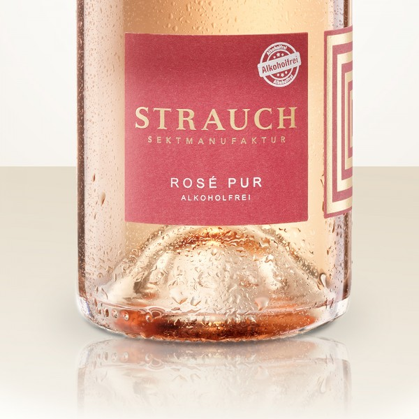 Strauch Rosé Pur BIO without alcohol