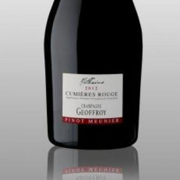 René Geoffroy Cumieres Rouge Millésime 2015 Pinot Meunier