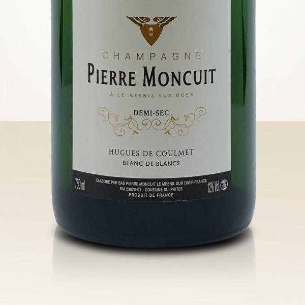 Pierre Moncuit Hugues de Coulmet Demi Sec