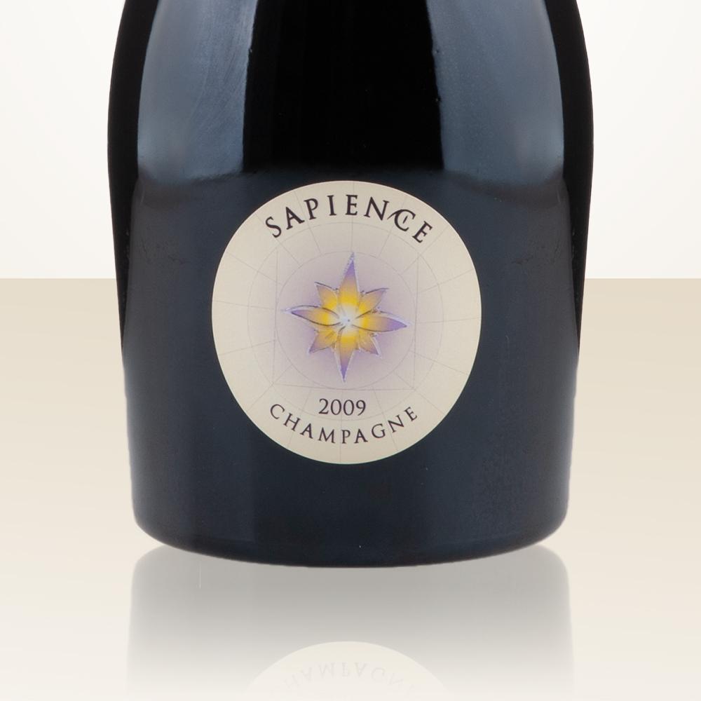Capsule de Champagne LASSAIGNE 1b. métal et noir