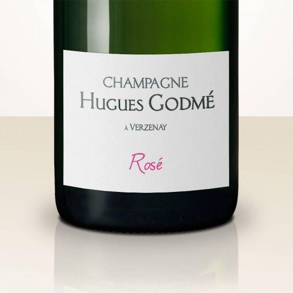 Hugues Godmé Brut Rosé DEMI