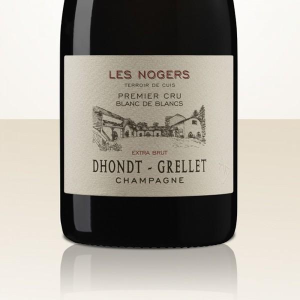 "Dhondt-Grellet ""Les Nogers"" Blanc de Blancs 2014 Extra Brut"