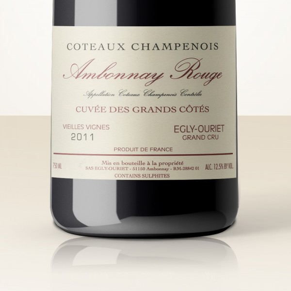 Egly-Ouriet Ambonnay Coteaux Champenois (Stillwein) 2013