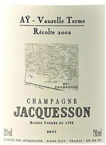 """Jacquesson Aÿ """"Vauzelle Terme"""" 2008"""