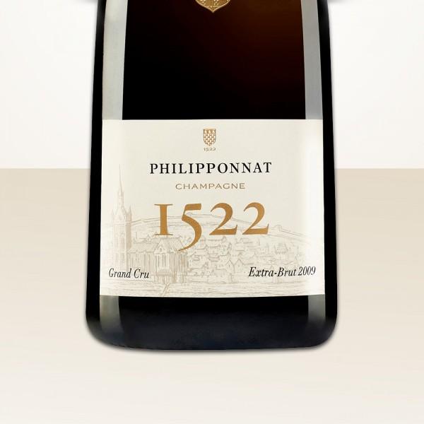 Philipponnat Cuvée 1522 Grand Cru 2009 Extra Brut MAGNUM