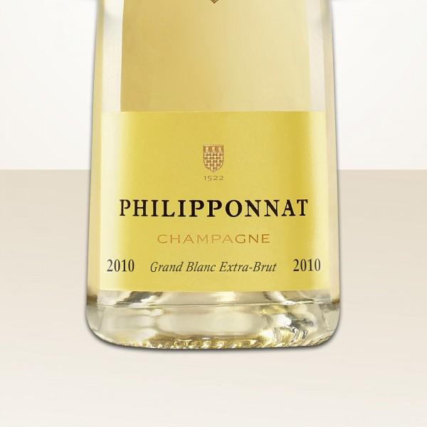 Philipponnat Grand Blanc 2009 Extra Brut MAGNUM
