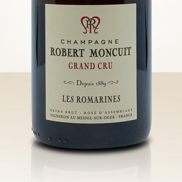 """Robert Moncuit Rosé """"Les Romarines"""""""