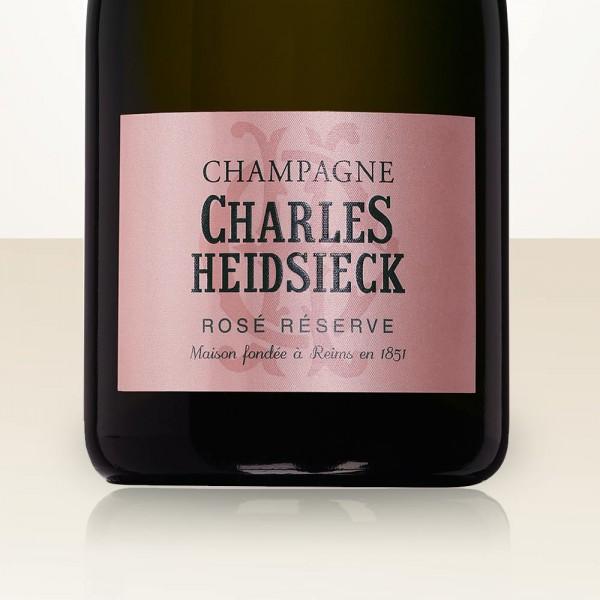 Charles Heidsieck Rosé Réserve DEMI