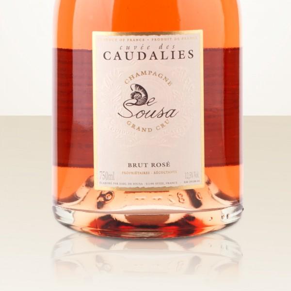 De Sousa & Fils Cuvée des Caudalies Rosé Grand Cru