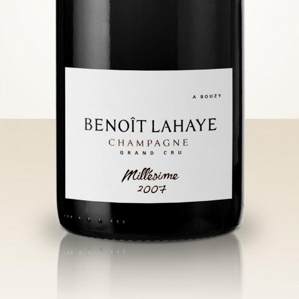 Benoît Lahaye Millésime Extra-Brut 2007