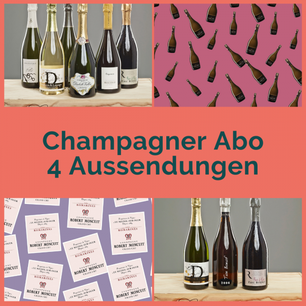 Champagne Subscription - 4 shipments with two bottles each