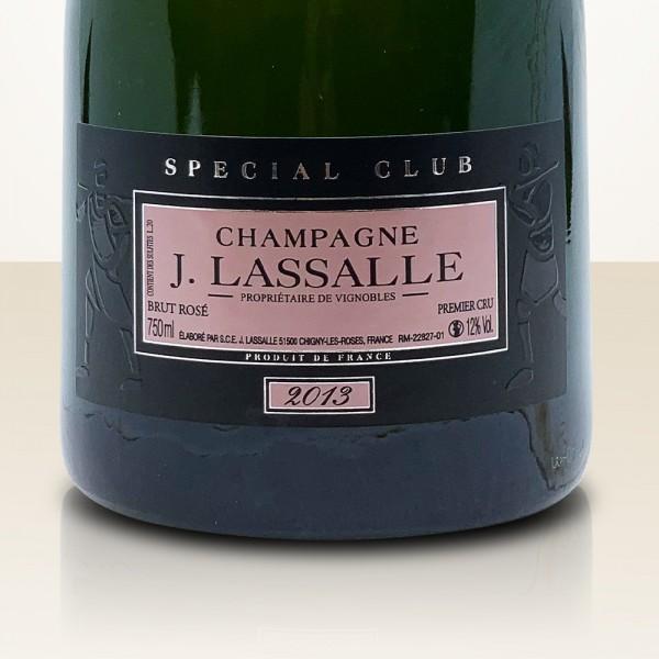 J. Lassalle Special Club Rosé 2013