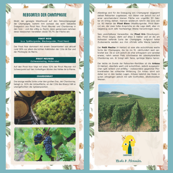 Information Card Grape varieties of Champagne