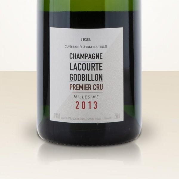 Lacourte-Godbillon Millésime 2013 Extra Brut