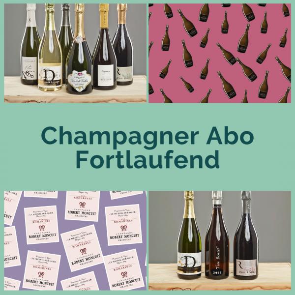 Champagner Abo - Fortlaufend - 2 Flaschen pro Sendung