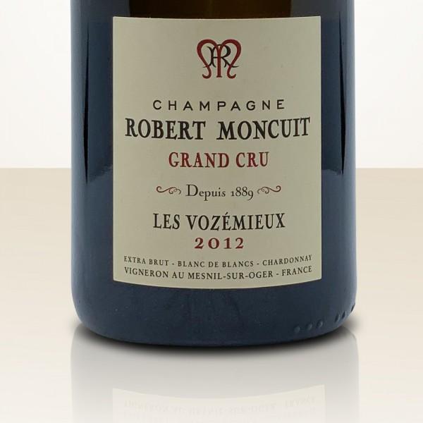 """Robert Moncuit Lieu dit d'Oger """"Les Vozémieux"""" 2012"""