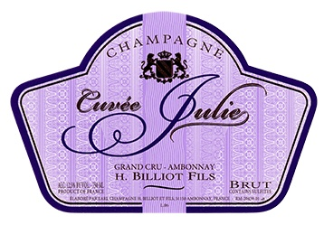 H. Billiot Cuvée Julie 2010