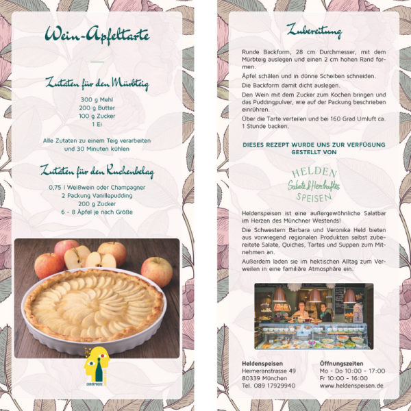 Recipe Card Apple pie