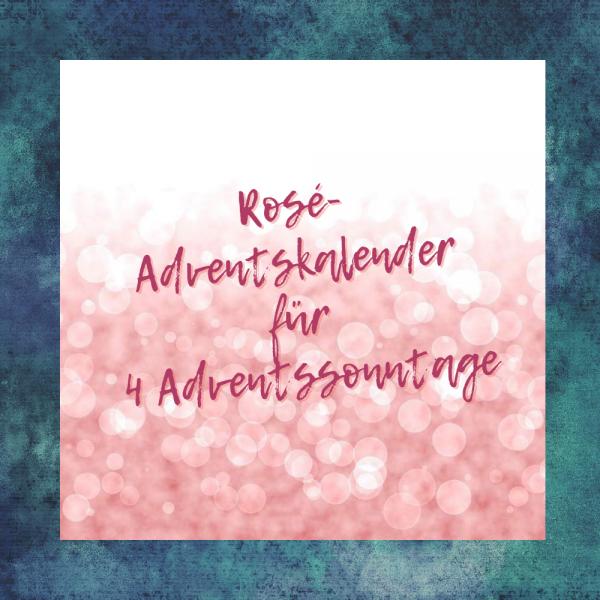 Rosé Advent Calendar for 4 advent Sundays