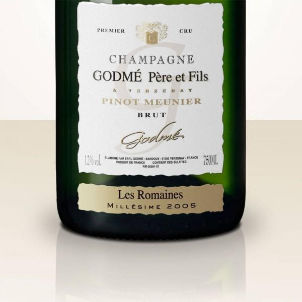 Hugues Godmé Les Romaines Pinot Meunier 2009