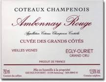 Egly-Ouriet Ambonnay Coteaux Champenois Grand Cru 2014