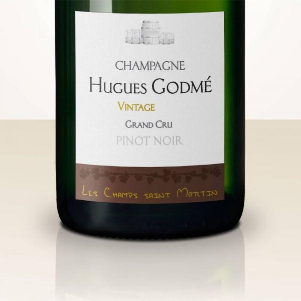 Hugues Godmé Les Champs Saint Martin Pinot Noir 2011