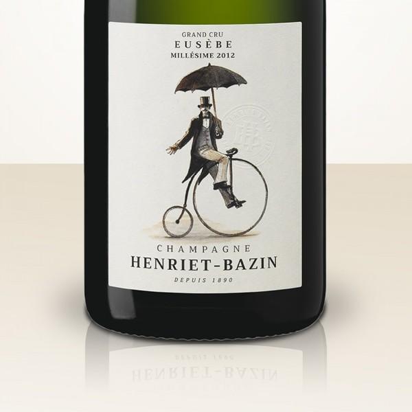 Henriet-Bazin Cuvée Eusèbe Millésime 2012 Brut