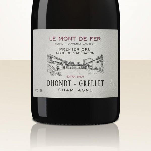 """Dhondt-Grellet Rosé """"Le Mont Fer"""" 2015 Pinot Noir de Macération"""