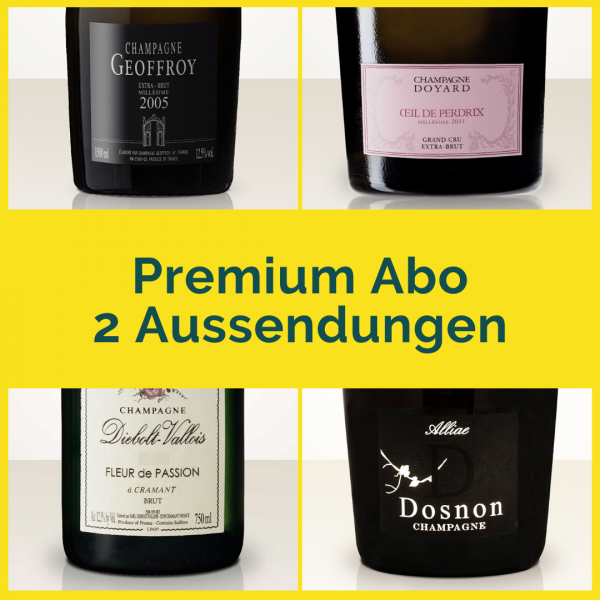 Premium subscription - 2 mailings with 2 bottles each