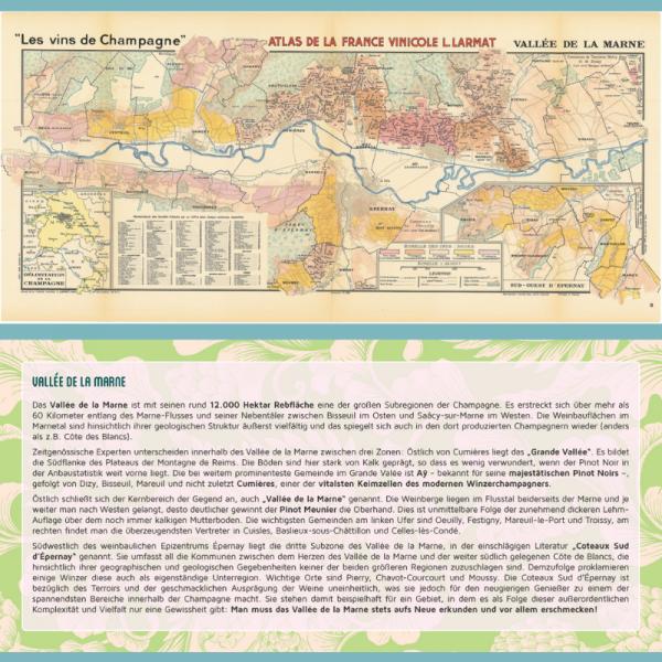 Regionenkarte Valée de la Marne
