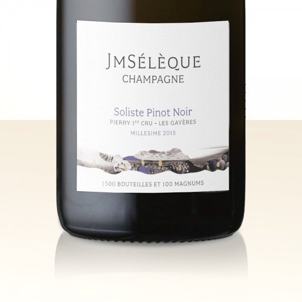 J-M Sélèque Soliste Pinot Noir Les Gayères 2015