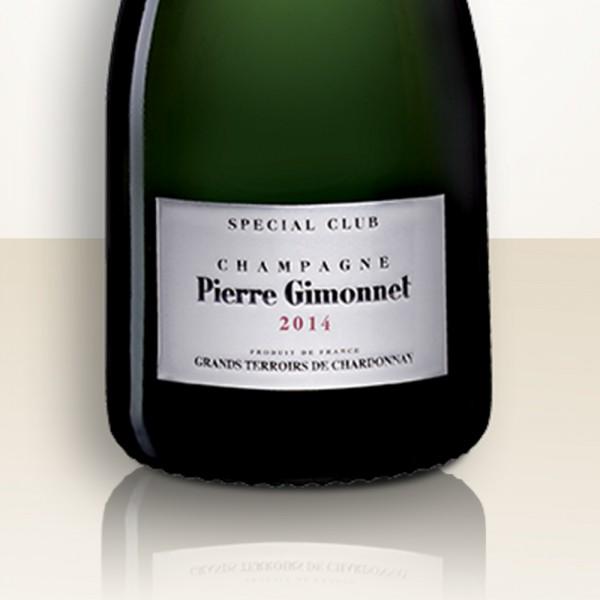 """Pierre Gimonnet Spécial Club """"Grands Terroirs de Chardonnay"""" 2014"""
