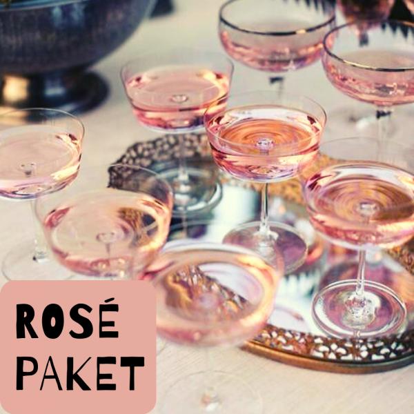 Taster Pack Rosé Champagnes