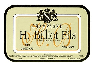 H. Billiot Brut Tradition MAGNUM