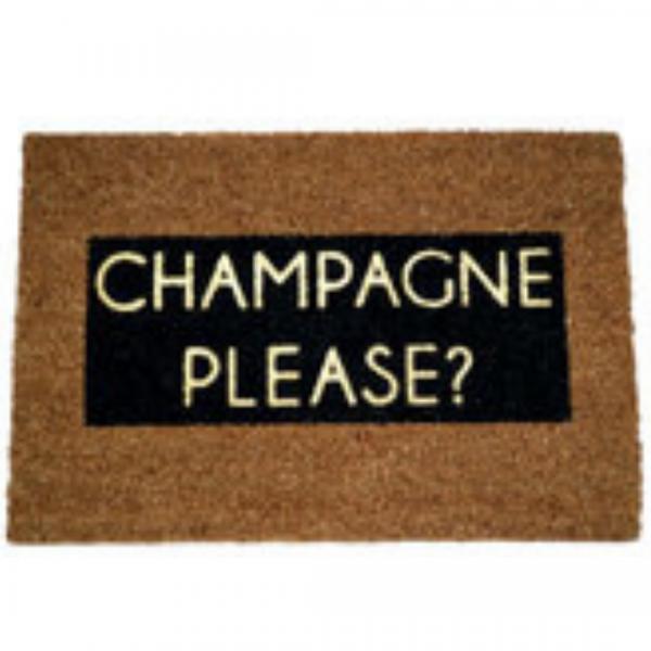 Glitter Champagne Doormat